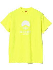 BEAMS JAPAN BEAMS JAPAN / ビームス ジャパン ネオンカラー ロゴ Tシャツ ビームス ジャパン カットソー Tシャツ イエロー オレンジ ピンク【送料無料】