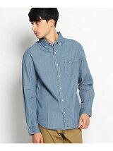 BCワッペン 4.5オンスデニム ボタンダウンシャツ