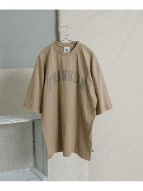 【SALE/25%OFF】ITEMS F&M プリントTシャツ FMW-014 アーバンリサーチアイテムズ カットソー Tシャツ グレー ホワイト ブラック