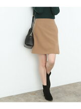 ラップ風台形ミニスカート