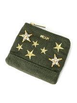 MIAN/星刺繍ティッシュポーチ