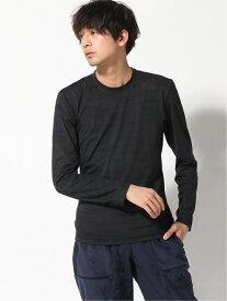 【SALE/65%OFF】adidas Sports Performance アルファスキン ウォーム グラフィック長袖Tシャツ [Alphaskin Warm Graphic Long Sleeve Tee] アディダス アディダス カットソー Tシャツ ブラック