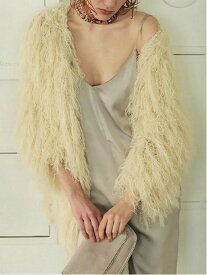 【SALE/57%OFF】TODAYFUL Shaggy Knit Cardigan トゥデイフル ニット カーディガン ホワイト ピンク【送料無料】