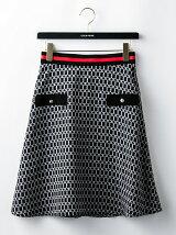 ベルトリングフレアースカート