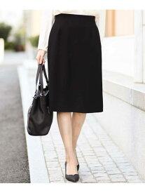 【SALE/10%OFF】MICHEL KLEIN 【洗える】ディオクロスセミタイトスカート ミッシェルクラン スカート スカートその他 ブラック ホワイト【送料無料】