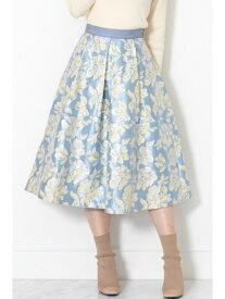 【SALE/57%OFF】JILLSTUART ◆アマレットフラワースカート ジルスチュアート スカート スカートその他 ブルー ベージュ【送料無料】