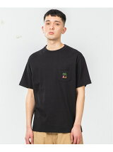 S/S POCKET TEE PALM TREE