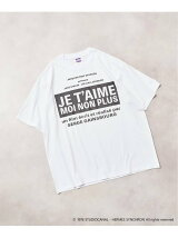<<予約>>【Je t'aime moi non plus for EDIFICE】FRONT BOX LOGO Tシャツ