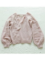 Balloonsleeve Mohair Knit