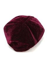 CHILLEベロアベレー帽