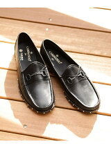 別注STUDS BOAT LOAFERS