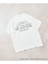 <<予約>>【Je t'aime moi non plus for EDIFICE】BACK LOGO Tシャツ