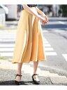 【SALE/70%OFF】カラーフレアスカート[WEB限定サイズ] アー・ヴェ・ヴェ スカート【RBA_S】【RBA_E】