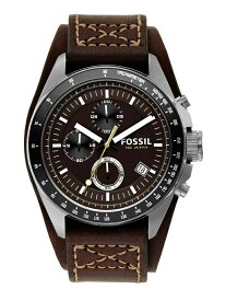 FOSSIL DECKER フォッシル ファッショングッズ 腕時計 ブラウン【送料無料】