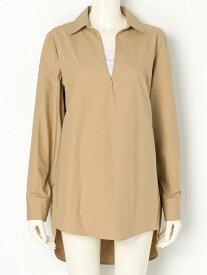 【SALE/55%OFF】THE SHINZONE BROAD CLOTH SHIRT シンゾーン シャツ/ブラウス 長袖シャツ ベージュ ホワイト【送料無料】