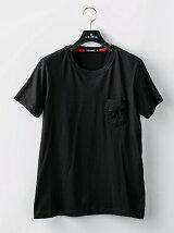 スパンコールナイトポケTシャツ