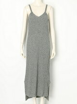 CAMISOLE RIB KNIT DRESS