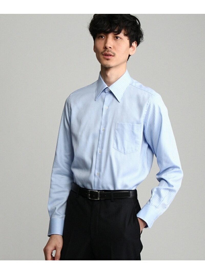 【SALE/10%OFF】ドビーストライプシャツドレス タケオキクチ シャツ/ブラウス【RBA_S】【RBA_E】【送料無料】