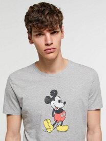 【SALE/30%OFF】(M)【Disney(ディズニー)コラボ】ミッキーマウス半袖Tシャツ シスレー カットソー【RBA_S】【RBA_E】