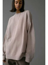 <monkey time> COTTON MESH MOCK NECK/メッシュニット