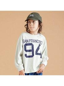 【SALE/30%OFF】BREEZE ピグメントナンバリングTシャツ エフオーオンラインストア カットソー Tシャツ グレー グリーン ピンク
