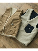 Lee×DOORS-natural- BOA VEST