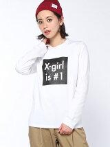 X-girl is No1 L/S TEE