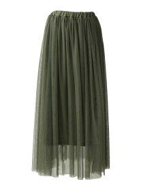 【SALE/10%OFF】SocialGIRL チュールフレアボリュームロングスカート ソーシャルガール スカート【RBA_S】【RBA_E】