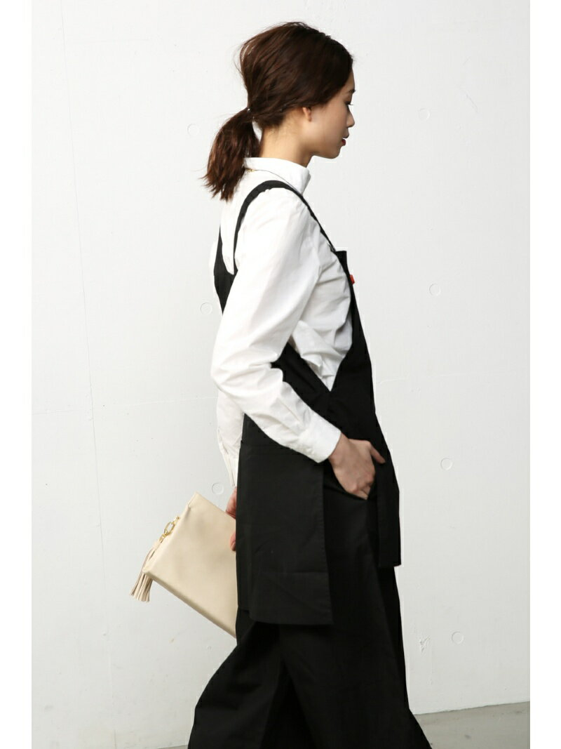 【SALE/60%OFF】AZUL by moussy エプロン付サロペット アズールバイマウジー ワンピース【RBA_S】【RBA_E】