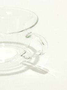 パラレル/耐熱ガラスカップ&ソーサー
