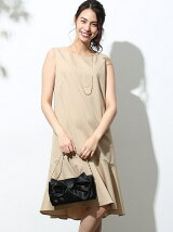 マーメイドペプラムドレス