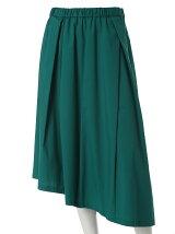 《INED》ストレッチアシンメトリーヘムスカート