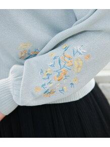 【WEB限定】【2WAY】刺繍トップスカーディガン