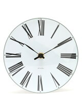 (U)ARNE JACOBSEN Wall Clock Roman 160mm