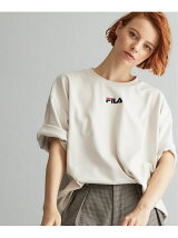 TRANS CONTINENTS JET LABEL × FILA 刺繍Tee