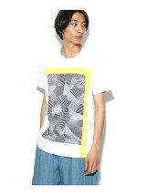 Dazzle camo スムースTシャツ