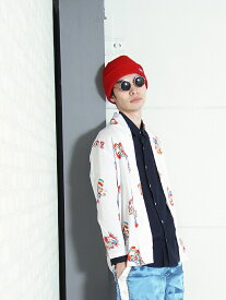 【SALE/26%OFF】VOTE MAKE NEW CLOTHES VOTE SIDE LOGO BEANIE ヴォート メイク ニュー クローズ 帽子/ヘア小物 ニット帽/ビーニー レッド ブラック ネイビー