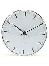(U)ARNE JACOBSEN Wall Clock CityHall 160mm