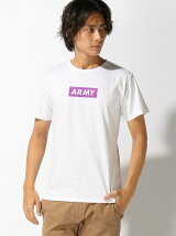 BROWNY/(M)ARMYボックスTシャツ