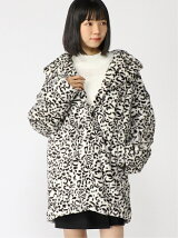*1 LEOPARD FUR COAT