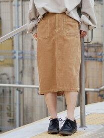 【SALE/30%OFF】179/WG 【新色追加】コーデュロイタイトスカート イチナナキューダブリュジー スカート タイトスカート オレンジ ブラウン グレー ホワイト