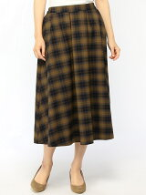 Lugnoncure/タックフレアスカート