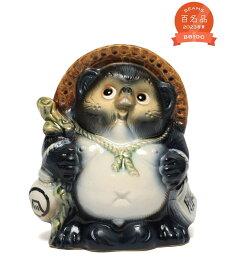 BEAMS JAPAN BEAMS JAPAN / 別注 信楽焼 必勝 藍 たぬき 中(17cm) ビームス ジャパン その他 その他【送料無料】