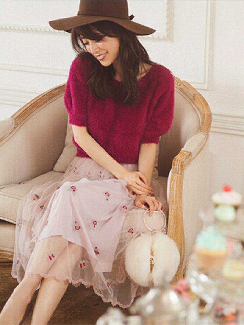 LAISSE PASSE チュール小花刺繍SK レッセパッセ【送料無料】