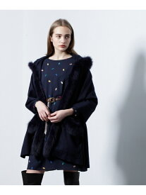 GRACE CONTINENTAL FOXトリミングストール グレースコンチネンタル ファッショングッズ【送料無料】