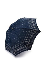 EH63 レース柄スカラップ長傘(雨傘)