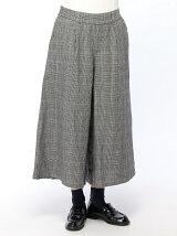 綿麻スカーチョ