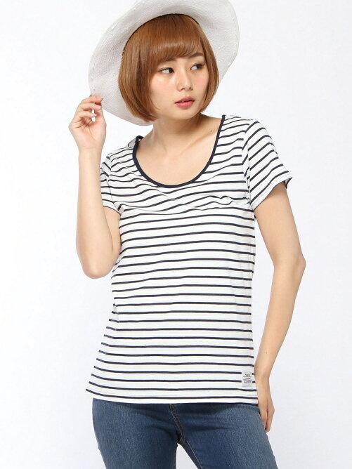 SIMPLE BORDER Tシャツ