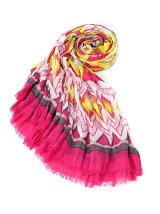 (W)トライバル柄スカーフ2Y