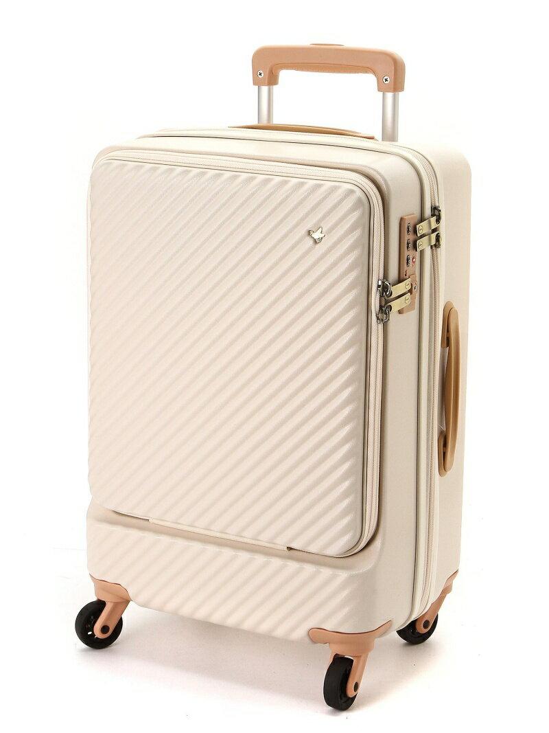 HaNT/ハント ミオ スーツケース 34リットル 便利なフロントポケット付き 1-2泊用 機内持込み対応サイズ 05750 エースバッグズアンドラゲッジ バッ【送料無料】
